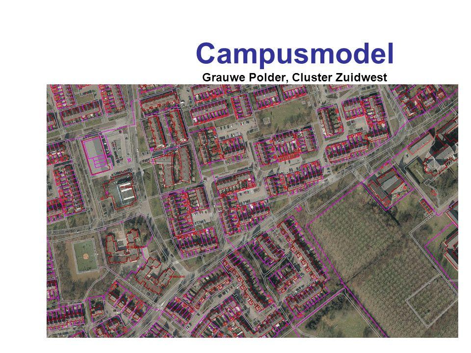 Campusmodel Grauwe Polder, Cluster Zuidwest