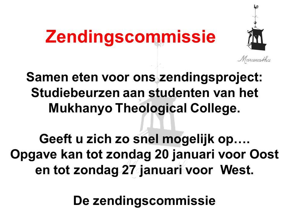 19-01-13 01/19/13. Zendingscommissie.
