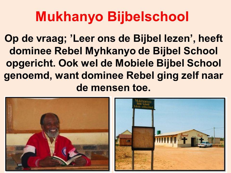 Mukhanyo Bijbelschool