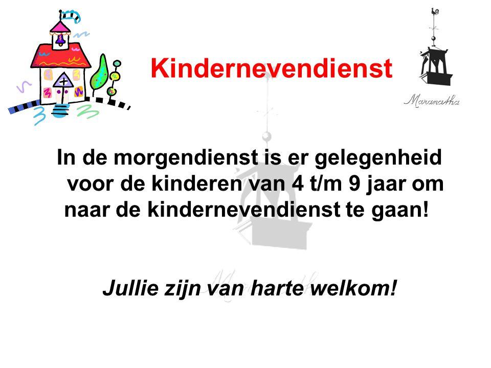 01/19/13 Kindernevendienst.