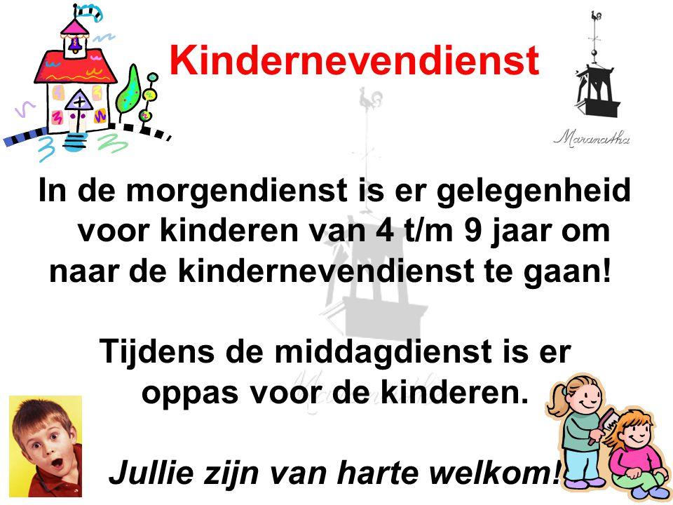 12/07/13 Kindernevendienst.