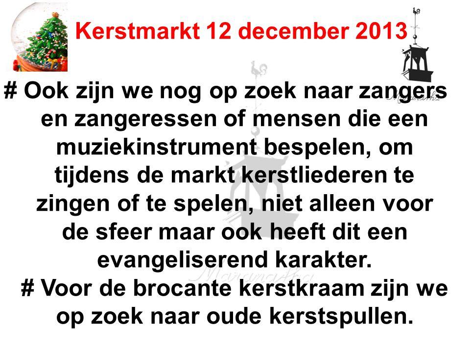 07-12-13 12/07/13. Kerstmarkt 12 december 2013.