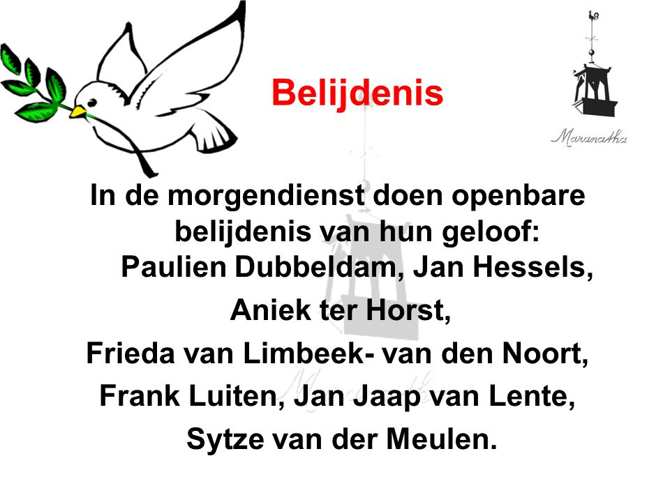 Frieda van Limbeek- van den Noort, Frank Luiten, Jan Jaap van Lente,