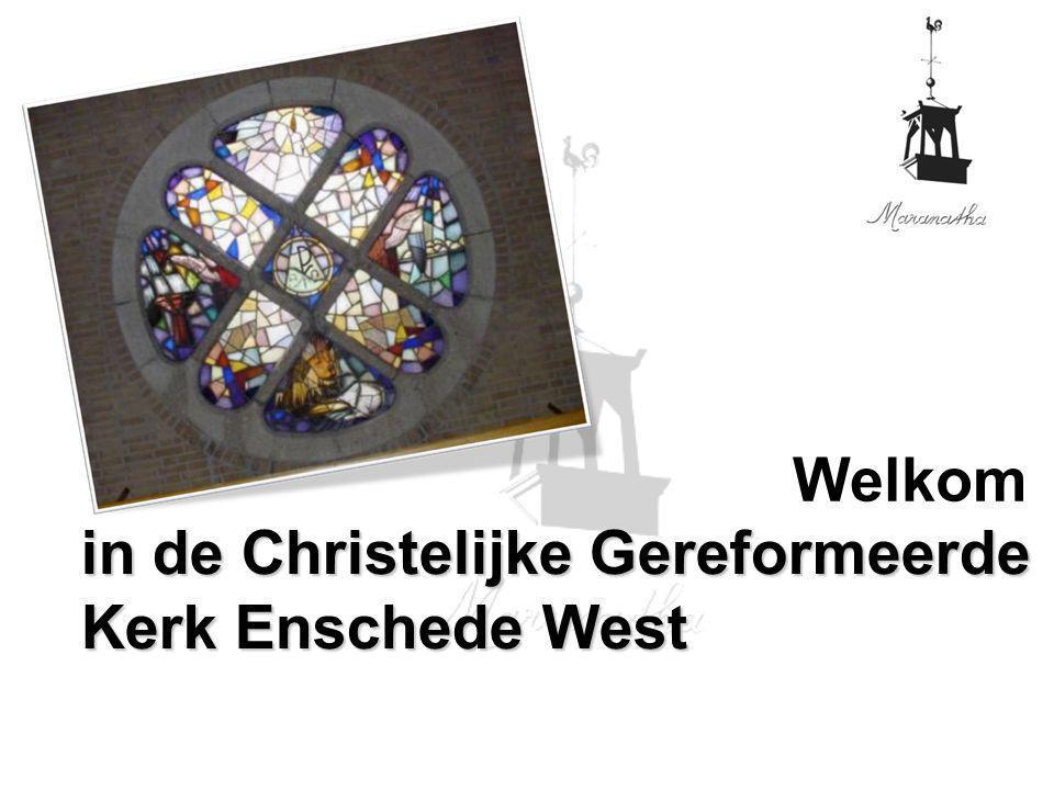 in de Christelijke Gereformeerde Kerk Enschede West