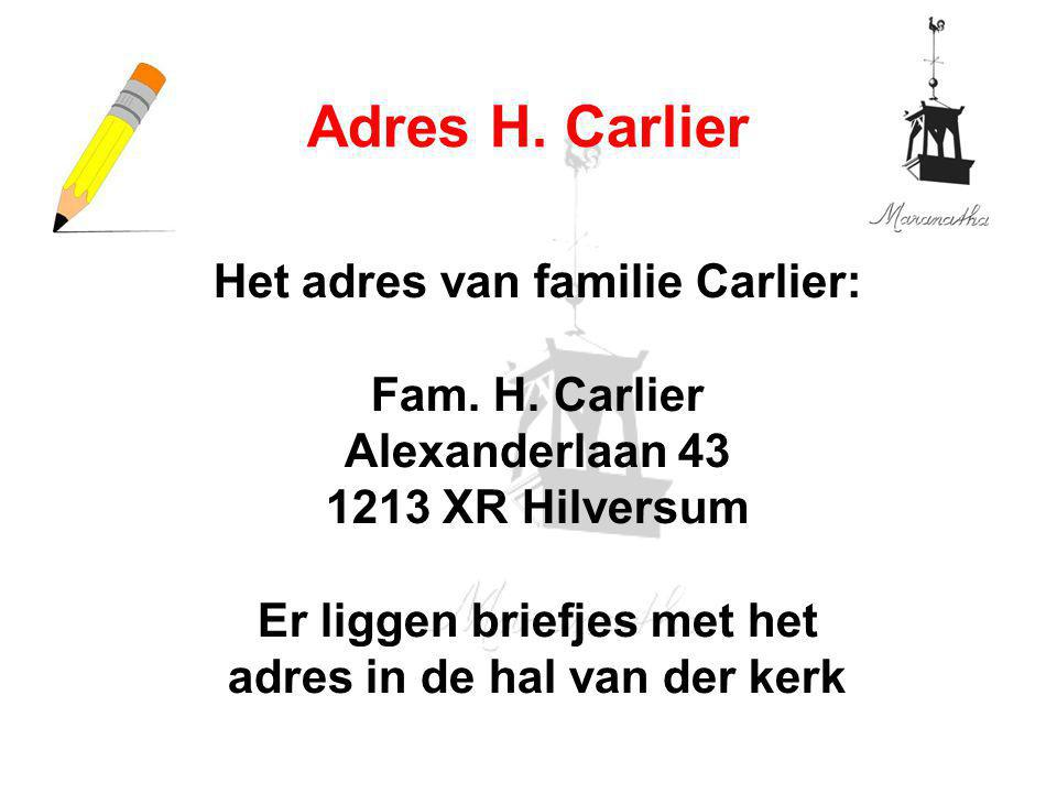 05/26/12 Adres H. Carlier.