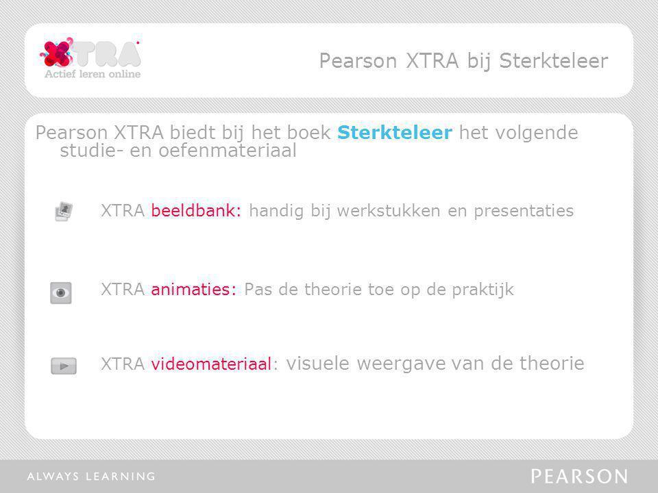 Pearson XTRA bij Sterkteleer