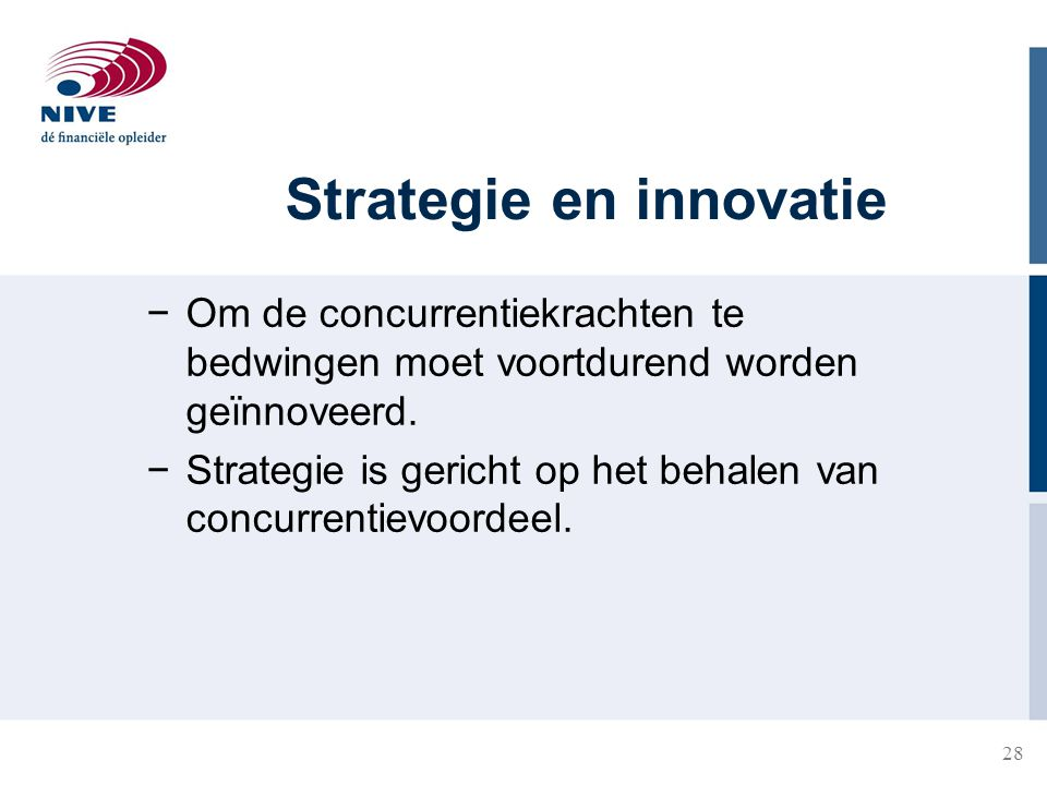 Strategie en innovatie