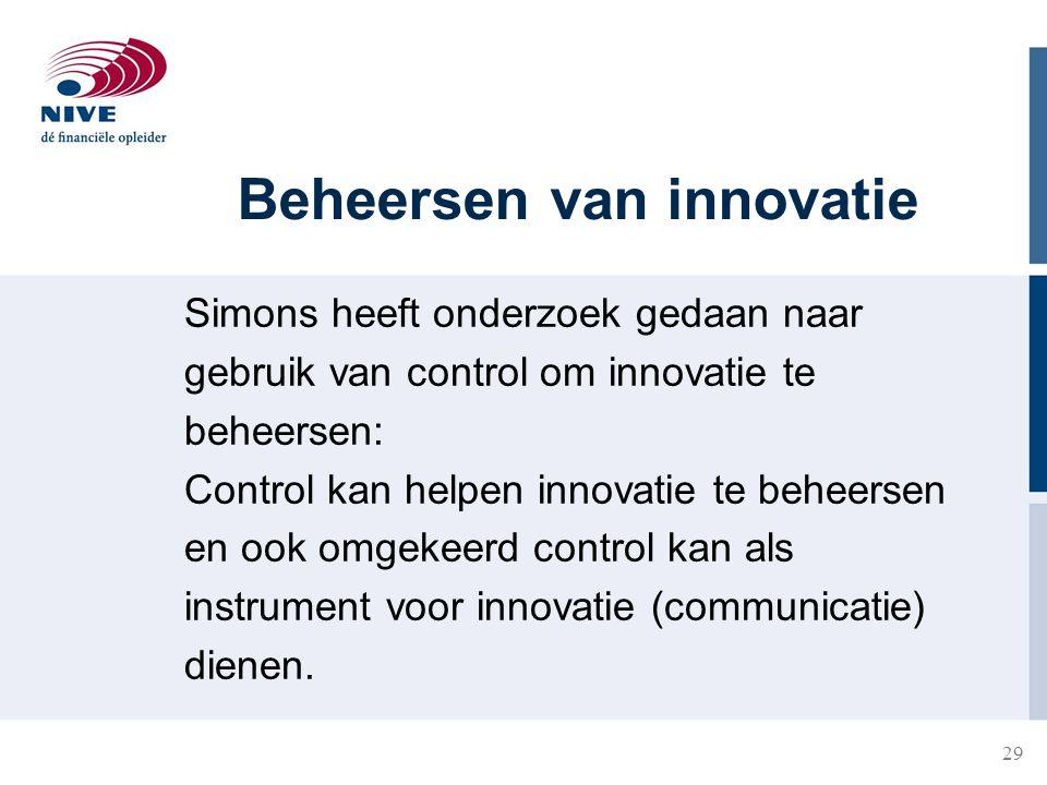 Beheersen van innovatie