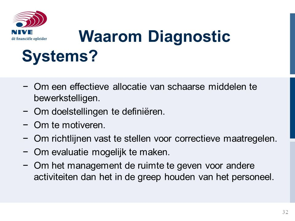 Waarom Diagnostic Systems