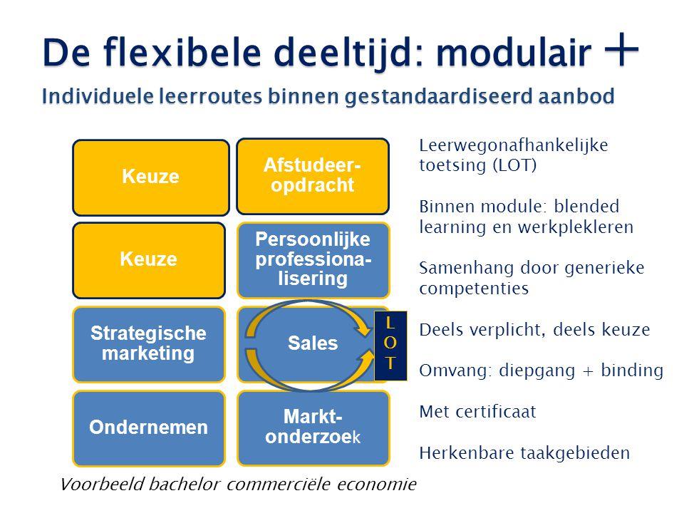 Strategische marketing Persoonlijke professiona-lisering