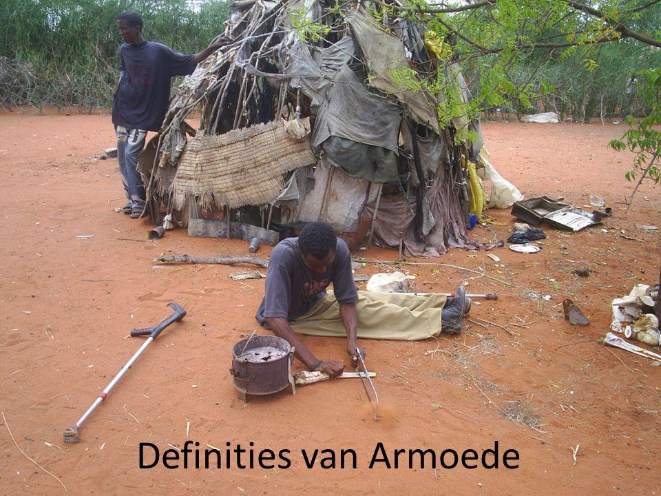 Definities van Armoede