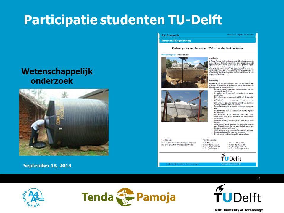 Participatie studenten TU-Delft