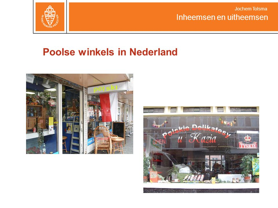 Poolse winkels in Nederland