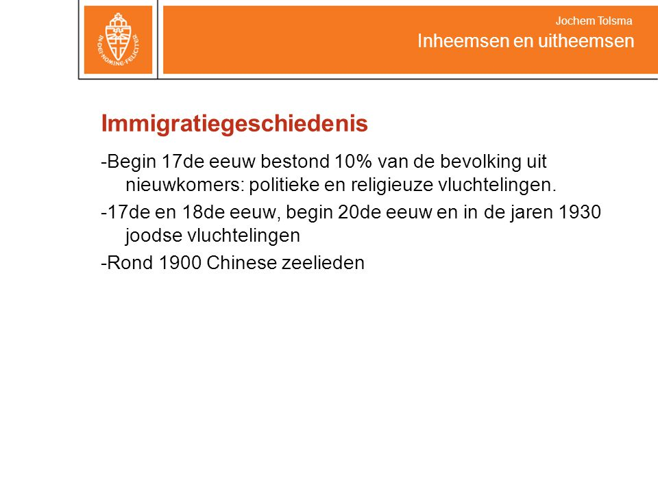 Immigratiegeschiedenis