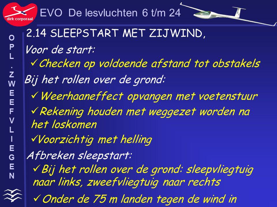 2.14 SLEEPSTART MET ZIJWIND,