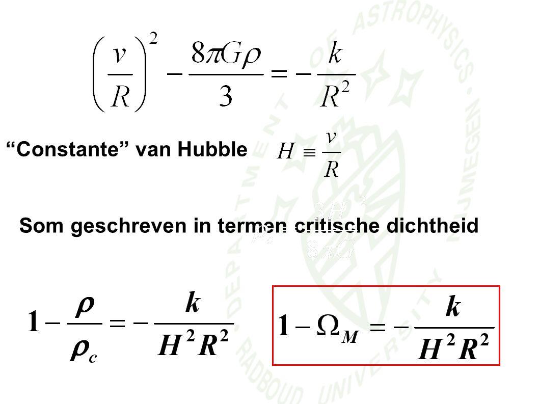 Constante van Hubble