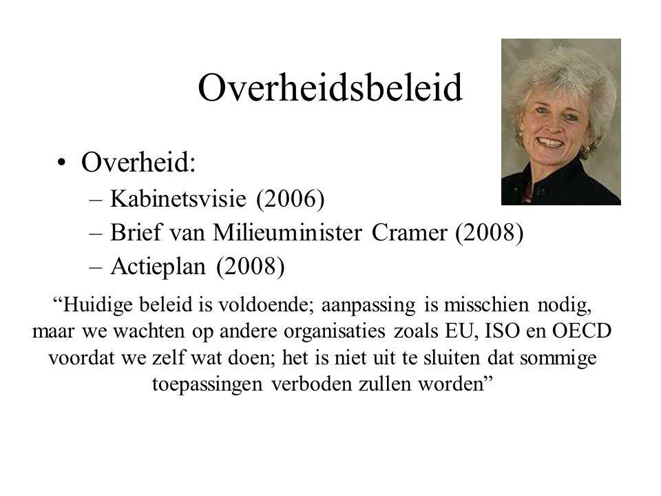 Overheidsbeleid Overheid: Kabinetsvisie (2006)