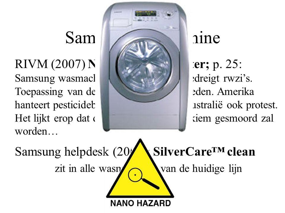 zit in alle wasmachines van de huidige lijn