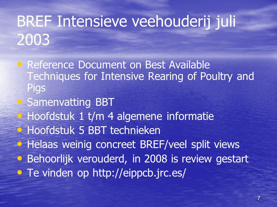 BREF Intensieve veehouderij juli 2003