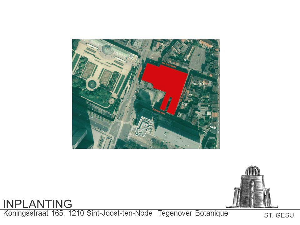 INPLANTING Koningsstraat 165, 1210 Sint-Joost-ten-Node