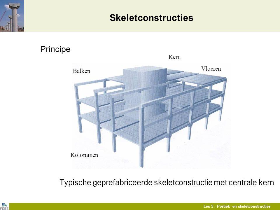 Skeletconstructies Principe
