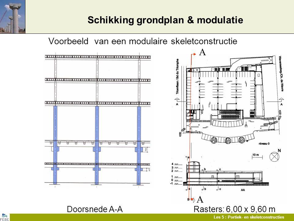 Schikking grondplan & modulatie