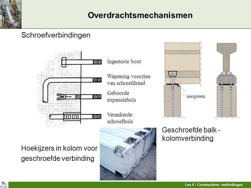 Overdrachtsmechanismen