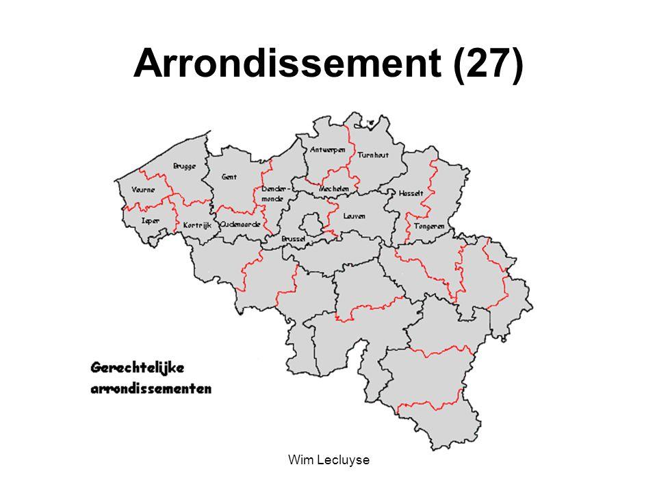 Arrondissement (27) Wim Lecluyse
