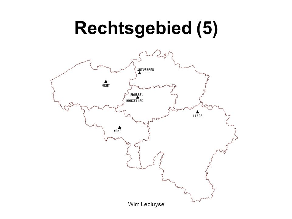 Rechtsgebied (5) Wim Lecluyse
