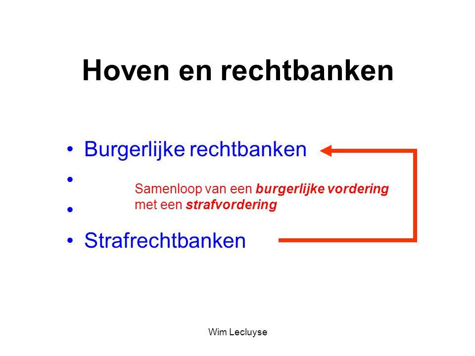 Hoven en rechtbanken Burgerlijke rechtbanken Handelsrechtbanken