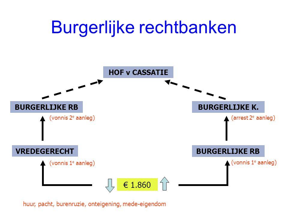 Burgerlijke rechtbanken
