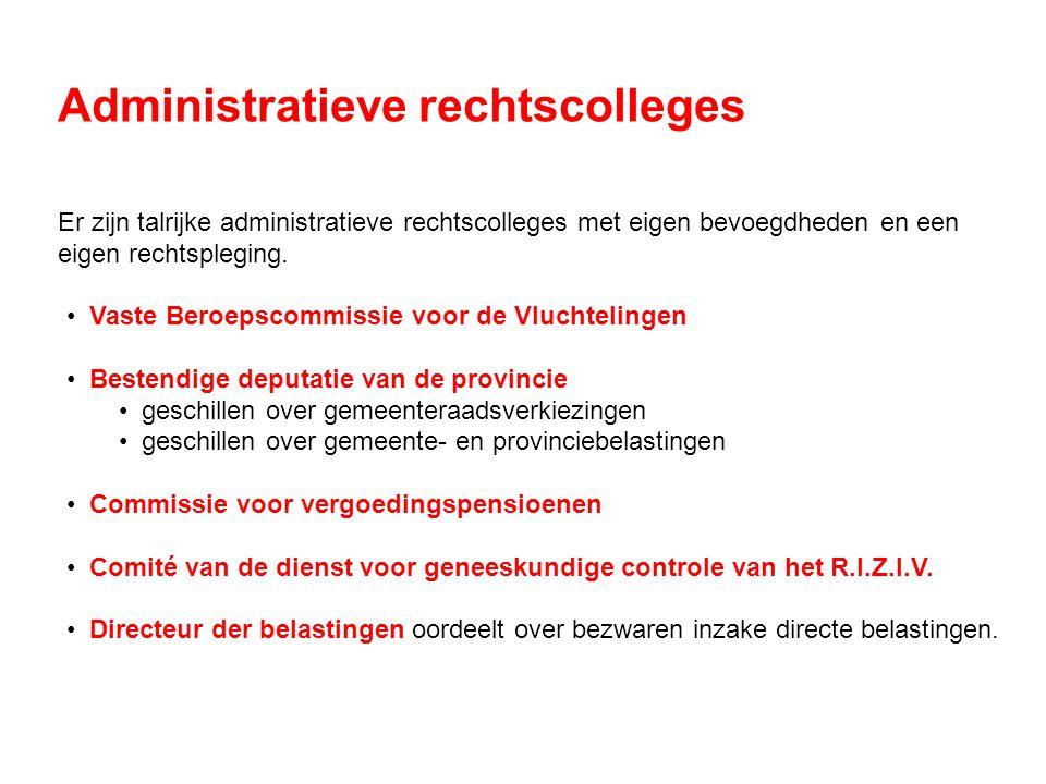 Administratieve rechtscolleges