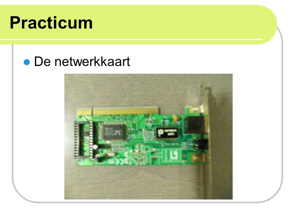 Practicum De netwerkkaart