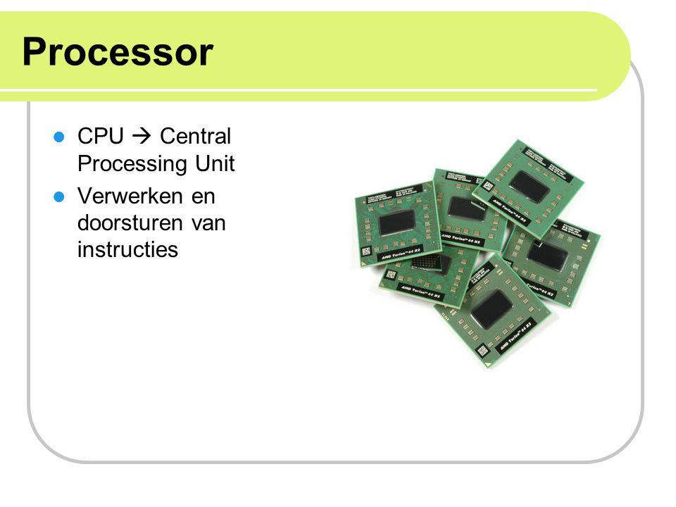 Processor CPU  Central Processing Unit