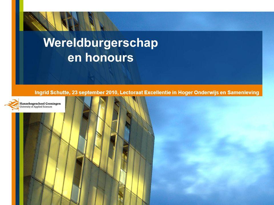 Wereldburgerschap en honours
