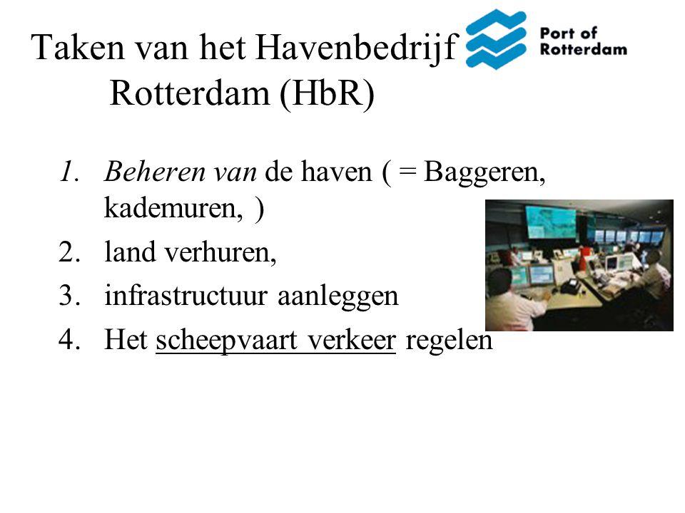 Taken van het Havenbedrijf Rotterdam (HbR)