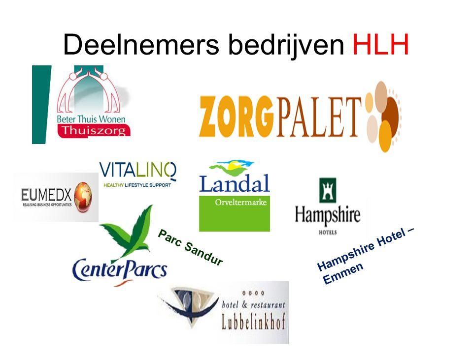 Deelnemers bedrijven HLH