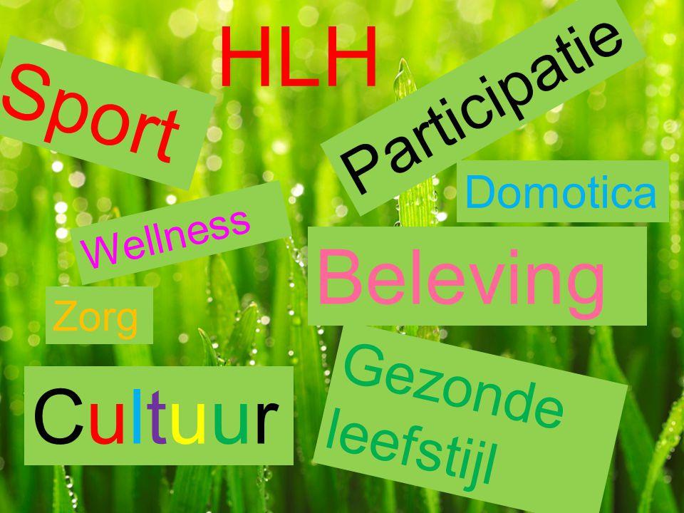 HLH Sport Beleving Cultuur Participatie Gezonde leefstijl Domotica