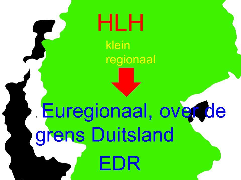 HLH EDR klein regionaal . Euregionaal, over de grens Duitsland Ton