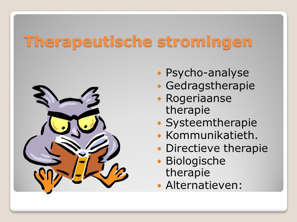 Therapeutische stromingen