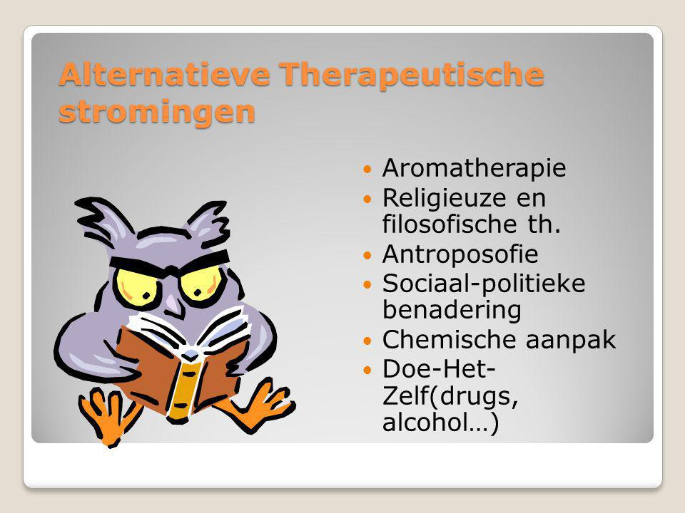 Alternatieve Therapeutische stromingen