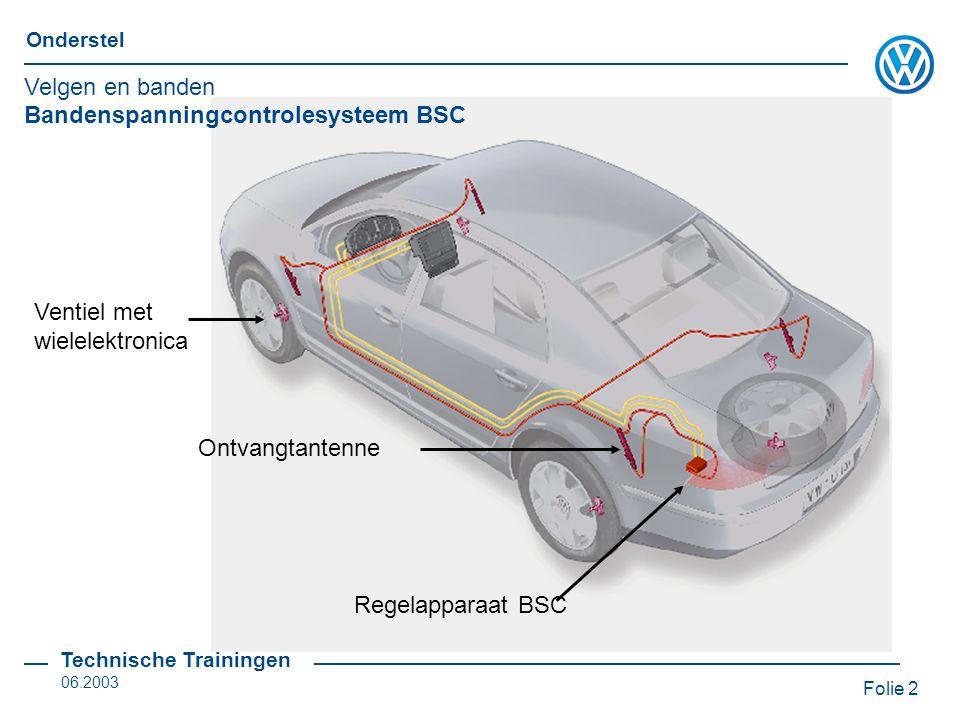 Velgen en banden Bandenspanningcontrolesysteem BSC. Ventiel met wielelektronica. Ontvangtantenne.