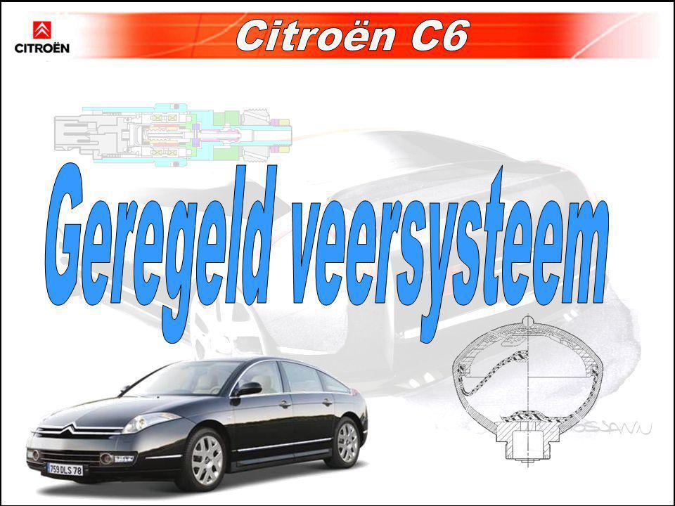 Geregeld veersysteem Citroën C6