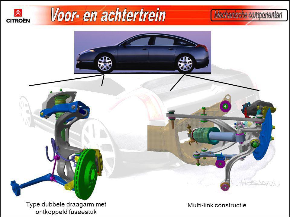 Voor- en achtertrein Mechanische componenten