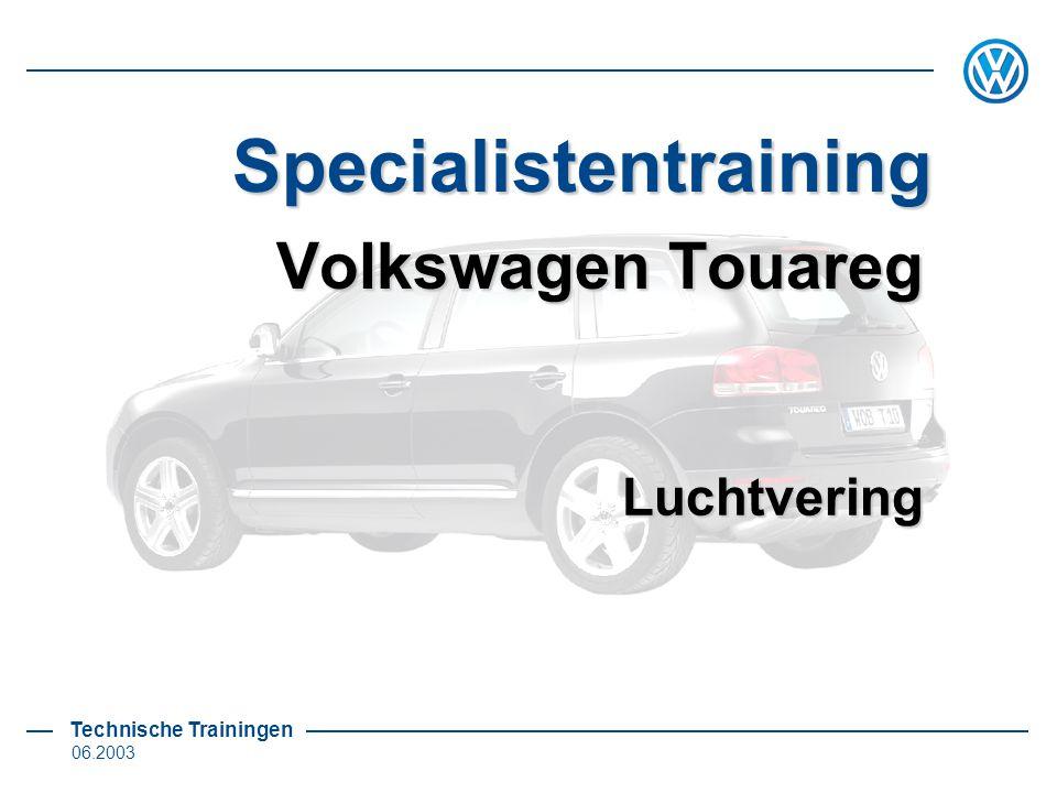 Volkswagen Touareg Luchtvering