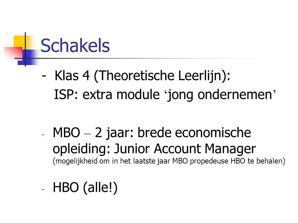 Schakels - Klas 4 (Theoretische Leerlijn):