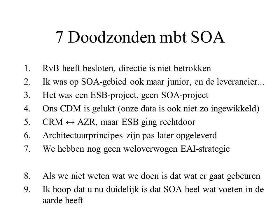 7 Doodzonden mbt SOA RvB heeft besloten, directie is niet betrokken