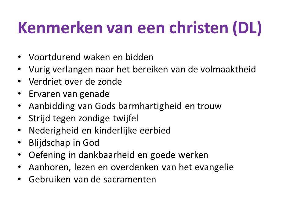 Kenmerken van een christen (DL)
