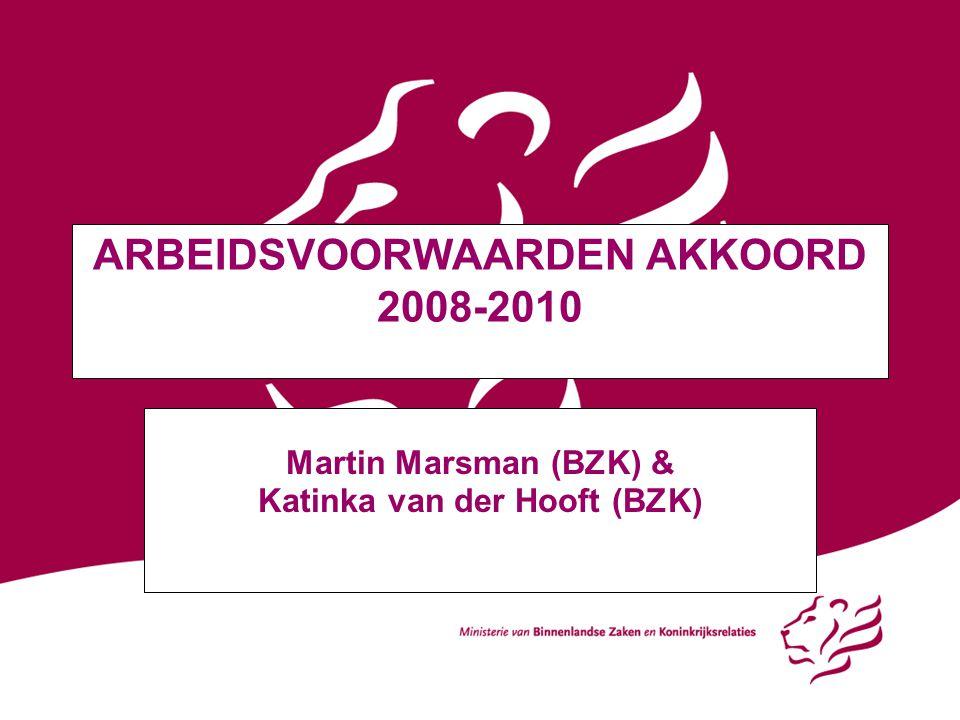 ARBEIDSVOORWAARDEN AKKOORD 2008-2010