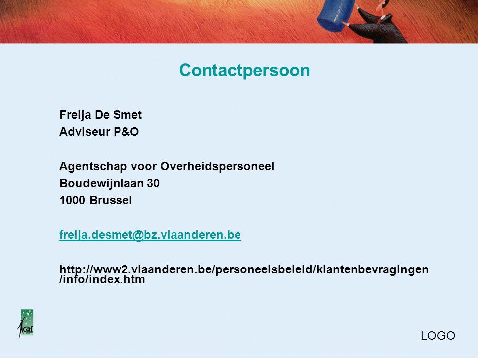 Contactpersoon Freija De Smet Adviseur P&O